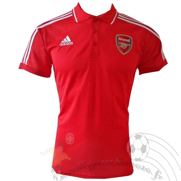 Maillot Foot Personnalisé Vente adidas Polo Arsenal 2019 2020 Rouge