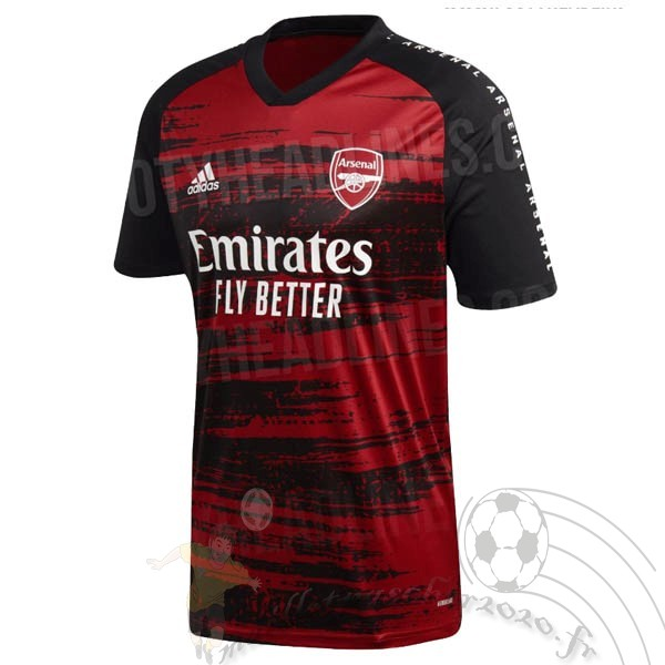 Maillot Foot Personnalisé Vente adidas Pre Match Maillot Arsenal 2020 2021 Rouge