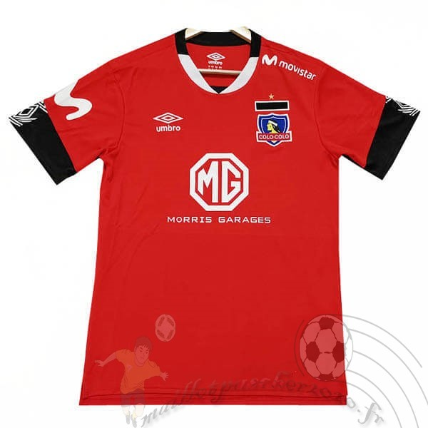 Maillot Foot Personnalisé Vente Tenis Charly Third Maillot Colo Colo 2019 2020 Rouge