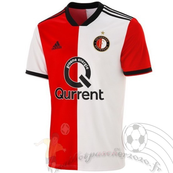 Maillot Foot Personnalisé Vente Adidas Domicile Maillot Feyenoord Rotterdam 2018 2019 Rouge