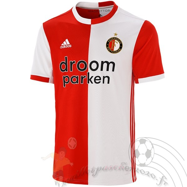 Maillot Foot Personnalisé Vente adidas Domicile Maillot Feyenoord Rotterdam 2019 2020 Rouge