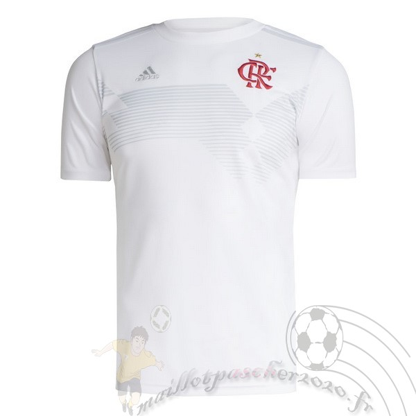 Maillot Foot Personnalisé Vente adidas Maillot Flamengo 70th Blanc