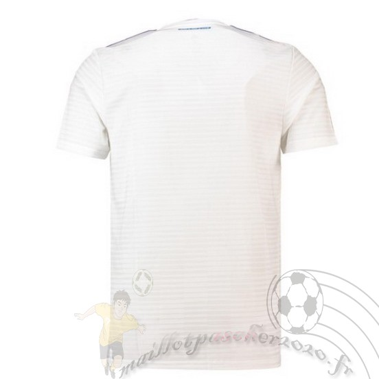 Maillot Foot Personnalisé Vente Adidas Domicile Maillot Hambourg Svnd 2018 2019 Blanc