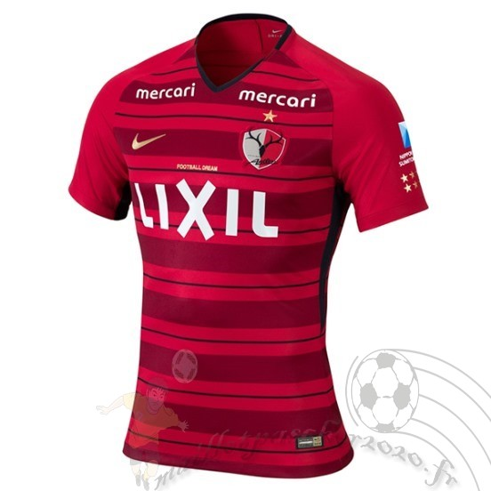 Maillot Foot Personnalisé Vente Nike Domicile Maillot Kashima Antlers 2018 2019 Rouge