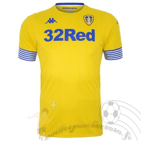 Maillot Foot Personnalisé Vente Kappa Third Maillot Leeds United 2018 2019 Jaune