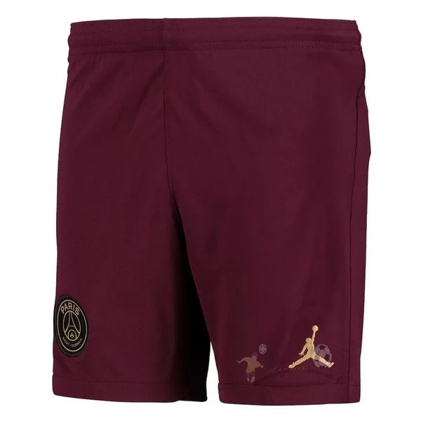 Maillot Foot Personnalisé Vente JORDAN Third Pantalon Paris Saint Germain 2020 2021 Bordeaux