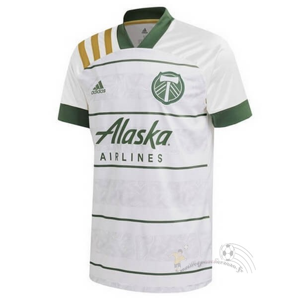 Maillot Foot Personnalisé Vente adidas Exterieur Maillot Portland Timbers 2020 2021 Blanc