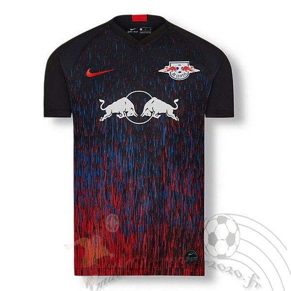 Maillot Foot Personnalisé Vente Nike Third Maillot Leipzig 2019 2020 Bleu Rouge