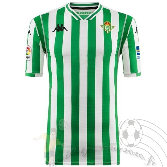 Maillot Foot Personnalisé Vente Kappa Domicile Maillot Real Betis 2018 2019 Vert