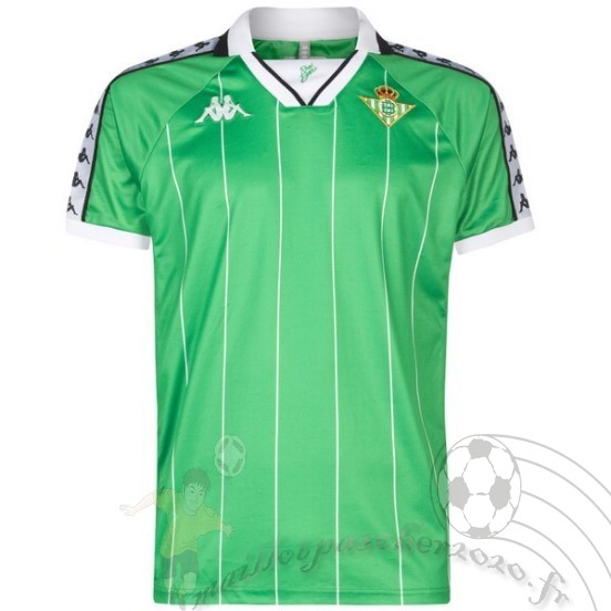 Maillot Foot Personnalisé Vente Kappa Maillot Real Betis Rétro 2018 2019 Vert
