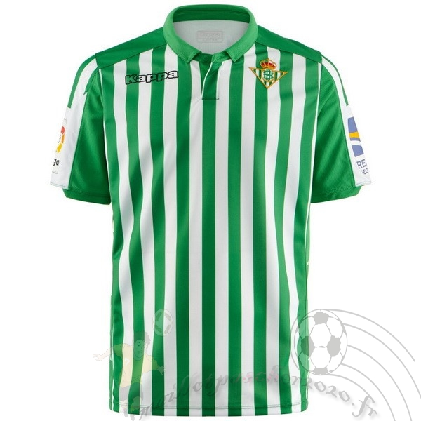Maillot Foot Personnalisé Vente Kappa Domicile Maillot Real Betis 2019 2020 Vert