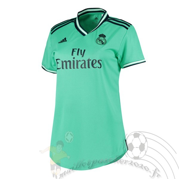 Maillot Foot Personnalisé Vente adidas Third Maillot Femme Real Madrid 2019 2020 Vert