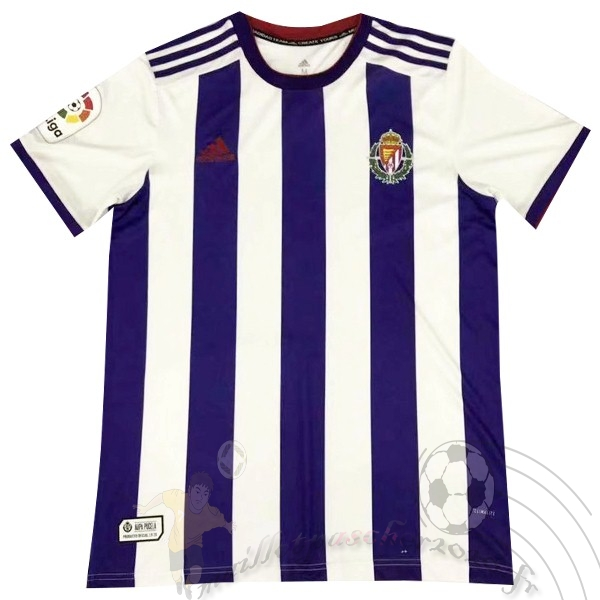 Maillot Foot Personnalisé Vente adidas Domicile Maillot Real Valladolid 2019 2020 Purpura
