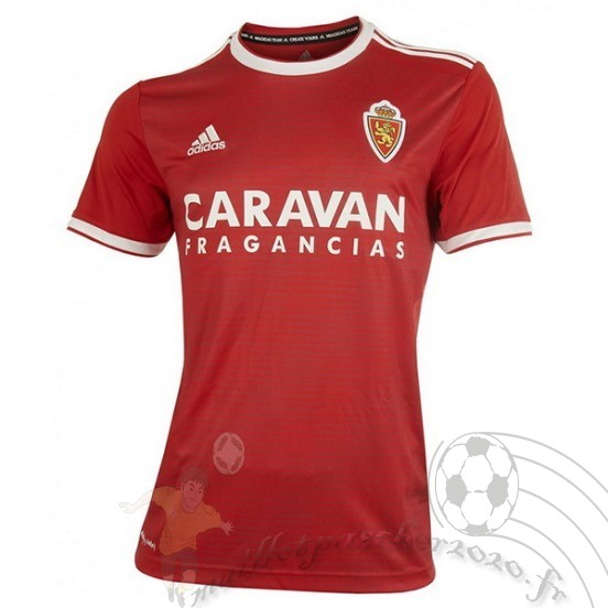 Maillot Foot Personnalisé Vente Adidas Exterieur Maillot Real Zaragoza 2018 2019 Rouge