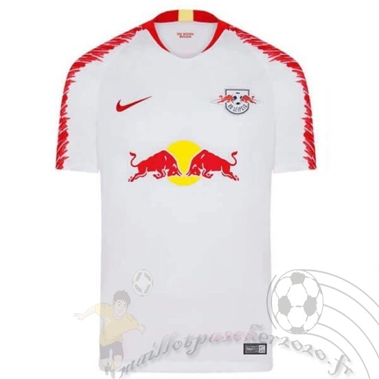 Maillot Foot Personnalisé Vente Adidas Domicile Maillot Red Bulls 2018 2019 Blanc