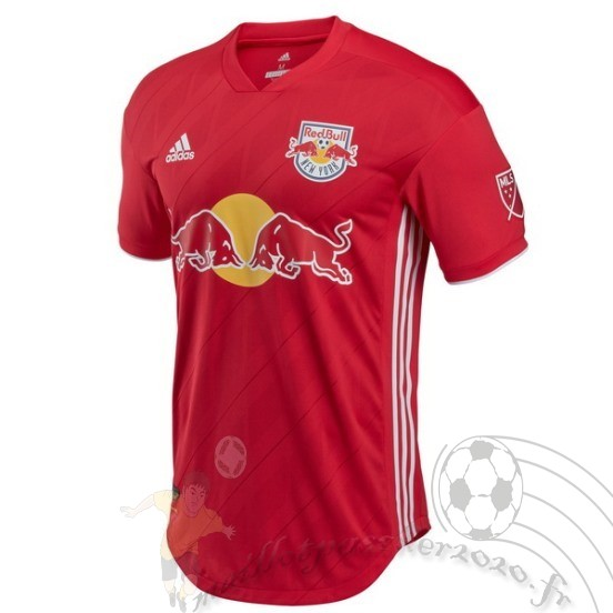 Maillot Foot Personnalisé Vente Adidas Exterieur Maillot Red Bulls 2018 2019 Rouge