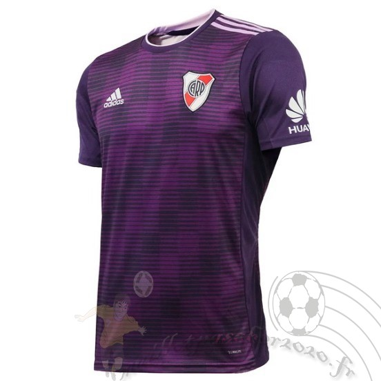 Maillot Foot Personnalisé Vente Adidas Third Maillot River Plate 2018 2019 Purpura