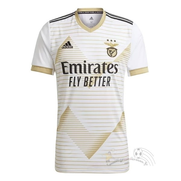 Maillot Foot Personnalisé Vente adidas Third Maillot Benfica 2020 2021 Blanc