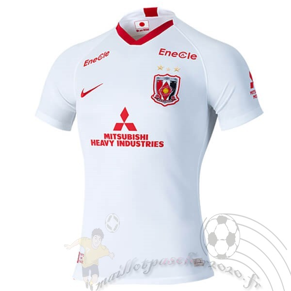 Maillot Foot Personnalisé Vente Nike Exterieur Maillot Urawa Red Diamonds 2020 2021 Blanc