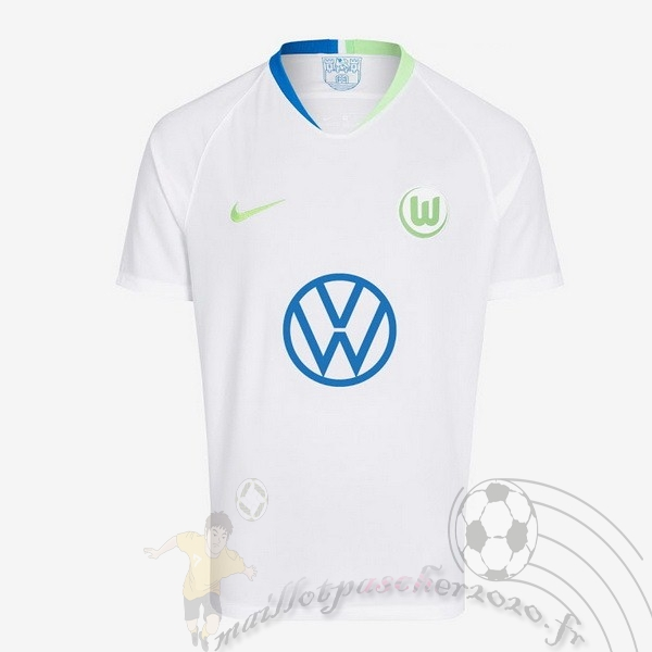 Maillot Foot Personnalisé Vente Nike Third Maillot Wolfsburgo 2019 2020 Blanc